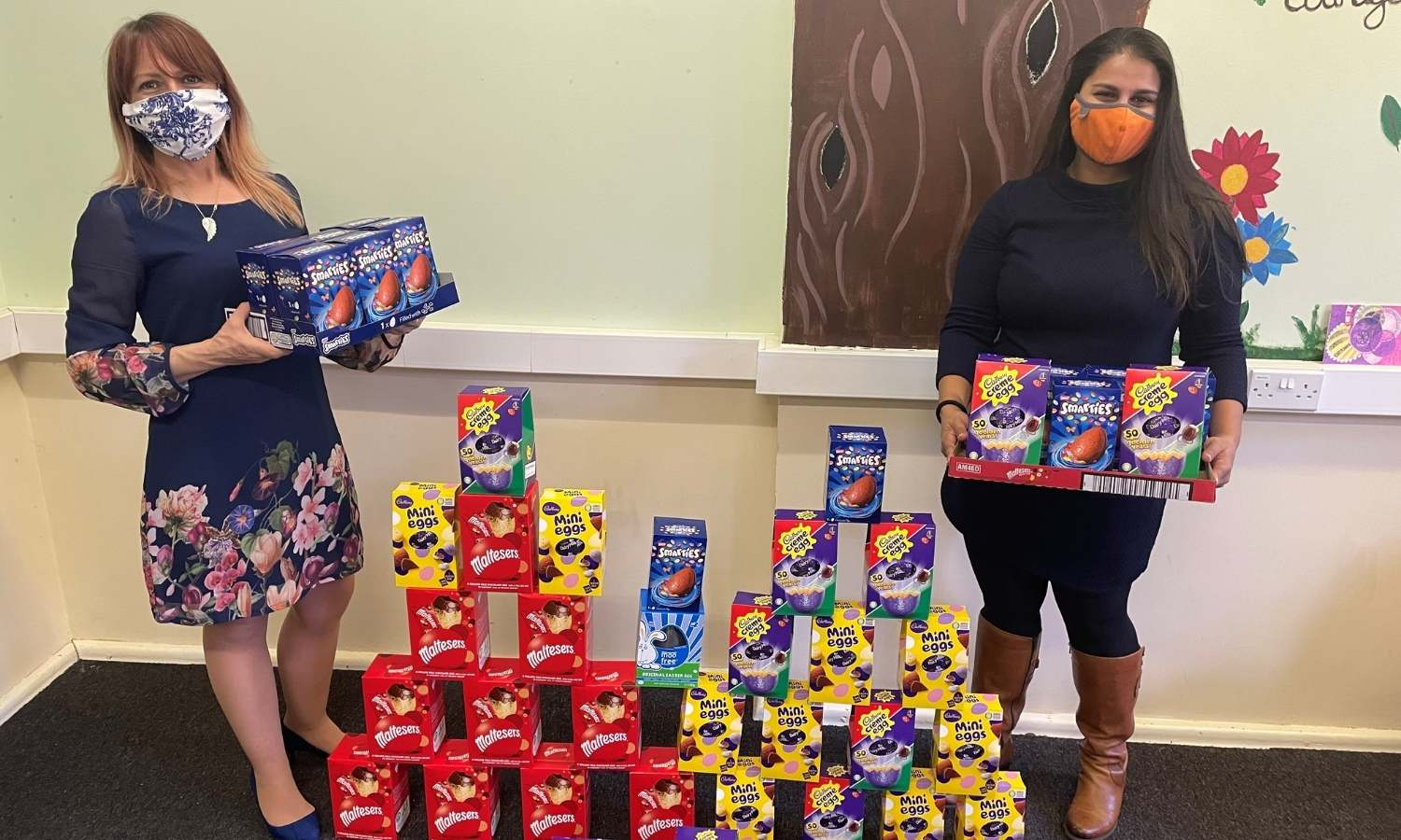 NOWELL MELLER DONATE EASTER EGGS TO FAMILIES AFFECTED BY CHILDHOOD CANCER